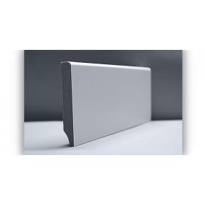 Listwa przypodłogowa cokołowa MDF biała 70x18