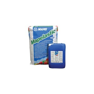 MAPELASTIC dwuskładnikowa hydroizolacja 32kg (A 24kg, B 8kg) MAPEI