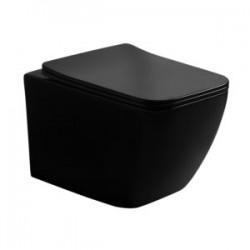 Misa WC Lavita miska wisząca LINO BLACK porcelana