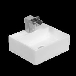 Umywalka wisząca LaVita Vista kwadrat podwieszana