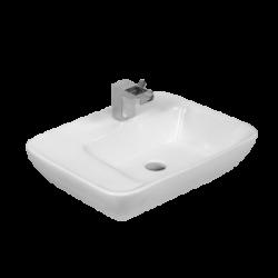 Umywalka nablatowa LaVita El Hierro prostokątna