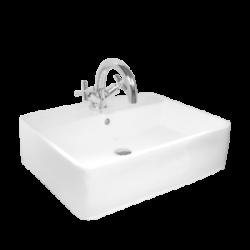 Umywalka nablatowa LaVita Tordera kwadratowa