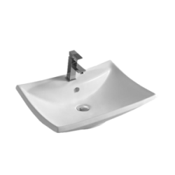 Umywalka nablatowa LaVita Majorka prostokątna