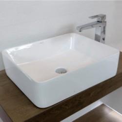 Umywalka nablatowa LaVita Alegranza prostokątna