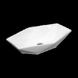 Umywalka nablatowa LaVita Sovena prostokątna