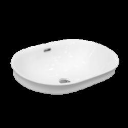 Umywalka wpuszczana LaVita Puebla owalna